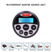 Waterproof Marine Stereo Bluetooth Radio Motorcycle Audio Boat Car MP3 Player Auto Sound System FM AM Receiver For SPA UTV ATV