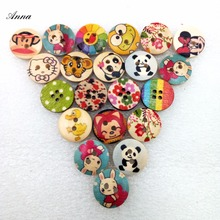30g Top Quality Rich Style 30 Gram Buttons Decorative Cute Wood Resin Promotions Mixed Sewing Scrapbook Party supplies