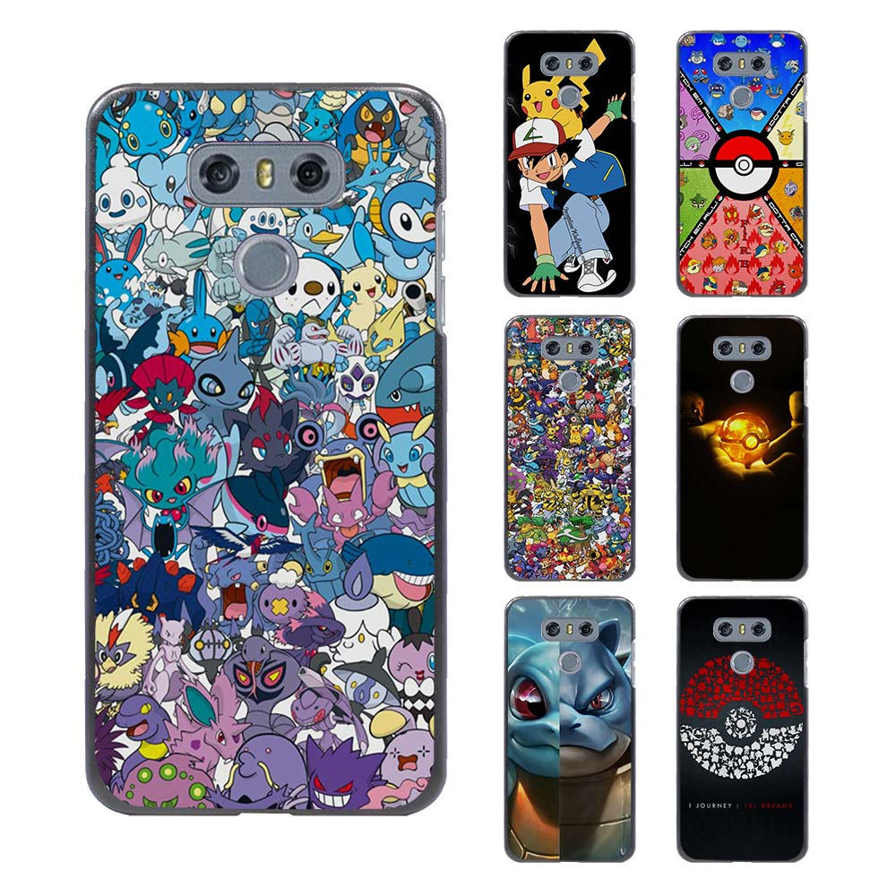 Design poster k3 - Awesome Pokemons Design Hard Black Case For Lg G6 G5 G4 G3 V20 V10 K8 K4