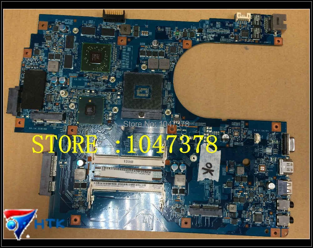 Wholesale MBRCB01001 MB.RCB01.001 laptop motherboard for ACER ASPIRE 7741 7741G 48.4HP01.011 NON-INTEGRATED  100% Work Perfect wholesale 6050a2341701 laptop motherboard for acer travelmate 8732hm55 non integrated mbbap30702 100
