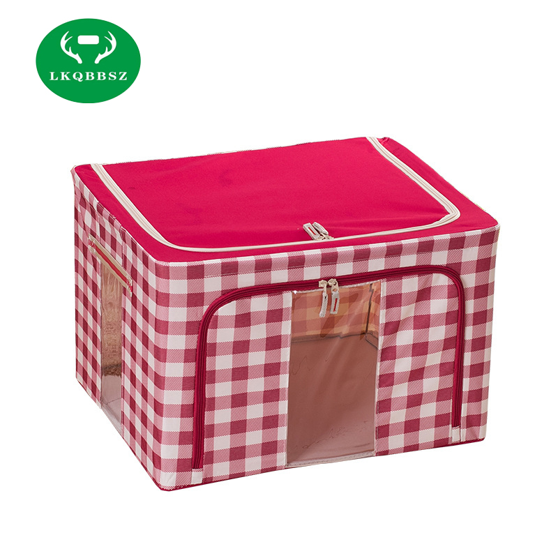 Cloth Storage Bags In Fabric Bedding Organizer For Accessory And Clothes  Storage With Garment Storage Box Case  In Storage Boxes U0026 Bins From Home U0026  Garden ...