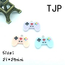 Kawaii Game controller Charms Pendants for DIY decoration bracelets necklace earring key chain Jewelry Making(China)