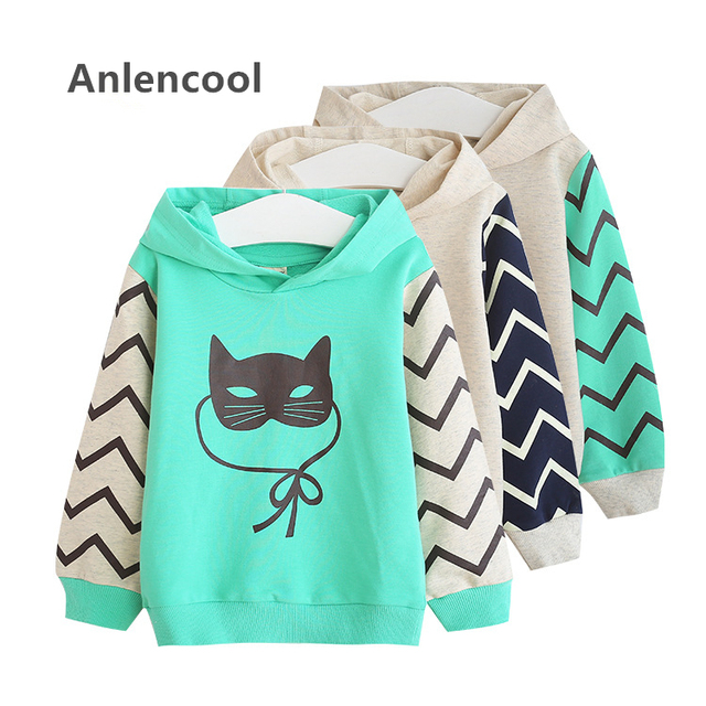 Anlencool 2017 bebé Novo primavera jaquetas nova marca softshell jaqueta crianças casaco ativo de alta qualidade 3-8 anos casaco bebê