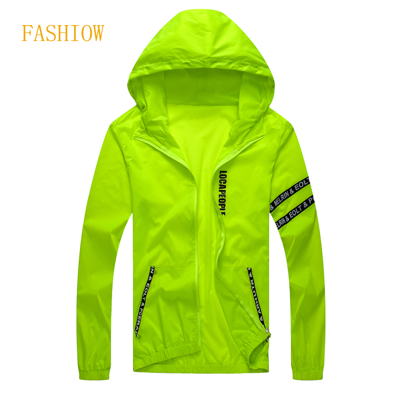 Hot Selling Spring Autumn Men's  Summer Casual Jacket Hooded Jacket Fashion Thin Windbreaker Zipper Coats M-4XL
