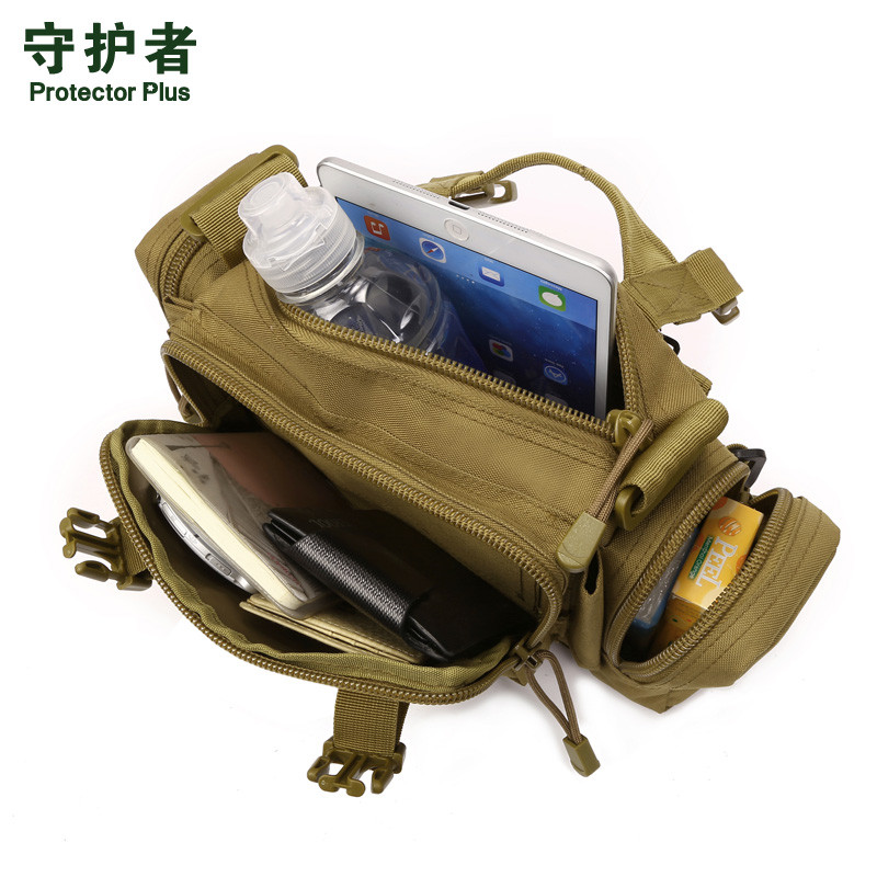 Hot Men Women Military Crossbody Bag High Quality Waterproof Nylon Casual Travel Handbags Camouflage Shoulder Bags uxcell 20mm cutting dia 20mm straight shank hss 4 flutes twist drilling end mill milling cutter tool