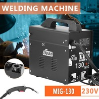 230V Gas Shielded Welding Machine Professional JUBA MIG 130 Electric Welding Machine Durable MIG Weldering Equipment EU Socket
