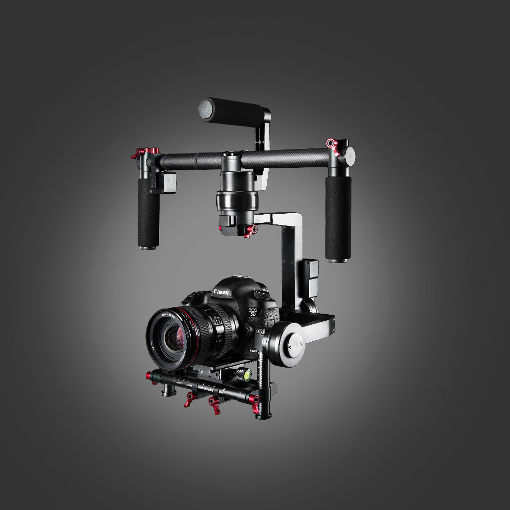 ASHANKS GB3 3 Axis Handheld Gimbal Brushless Stabilizer Bluetooth Control For 5D3/ GH4/ A7S/ BMPCC Better than DS1