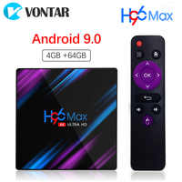 Android 9.0 4GB 64GB TV Box Google Voice Input Rockchip RK3318 Support Youtube 4K USB3.0 Google Play Store Netflix Smart TV Box