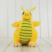 1Pcs 23cm Japanese Anime Dragonite Soft Stuffed Plush Doll Kids Toys