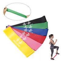 1Pcs Yoga Fitness Widerstand Bands Fitness Workout Ausrüstungen Schleife Bands Schleife Stretch Gym Ausrüstung Ausbildung Latex Workout Bands