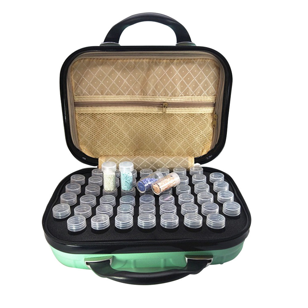 132 compartiments Portable voyage bouteille transportant multifonction organisateur huile essentielle cosmétique dur sac de rangement étui antichoc