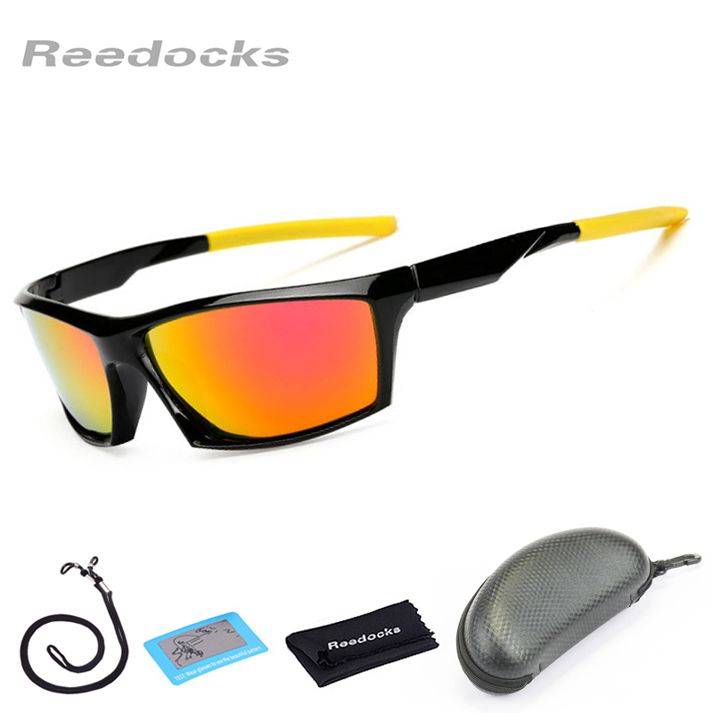 Reedocks Men Sports Polarized Sunglasses Quality Fishing Eyewear Women UV400 Cycling Goggle Outdoor Driving Fishing Sun Glasses