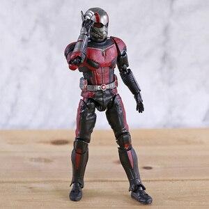 Image 2 - SHF Avengers 4 Endgame Ant Man nieskończoność wojna Antman Model postaci zabawka dla dzieci