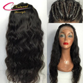 Толстое Тело Волна Бразильский Парик Фронта Шнурка & Glueless Полный Шнурок человеческих Волос Парики С Естественной линии роста волос Для Черных Женщин 130% Плотность