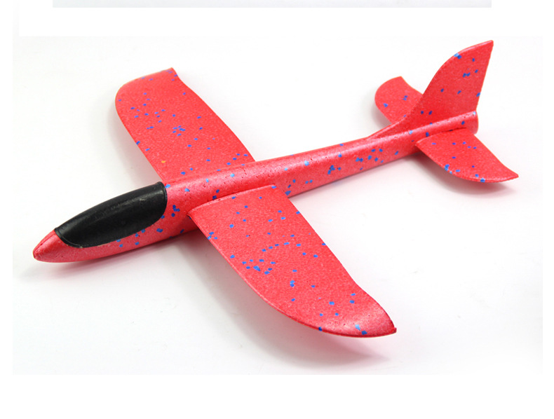 April Du EPP Foam Hand Throw Airplane Outdoor Launch Glider Plane Wholesale Kids Gift Toy Small 35cm,20pcs