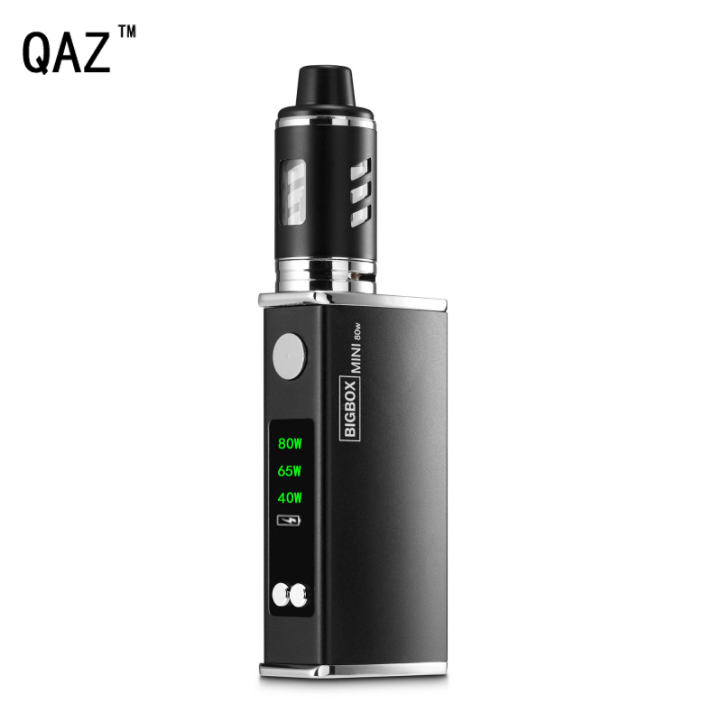 QAZ 80 W Sigaretta Elettronica Vape Mod Box kit 2200 mAh Batteria 3 ml 0.3ohm Penna Atomizzatore PORTATO Vaporizzatore Narghilè Vaper Sigarette elettroniche
