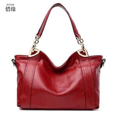 XIYUAN BRAND real Genuine Leather Women's Messenger Bags Cowhide Crossbody Bags Female Designer Shoulder Tote Bag handbags red qiaobao 100% genuine leather women s messenger bags first layer of cowhide crossbody bags female designer shoulder tote bag