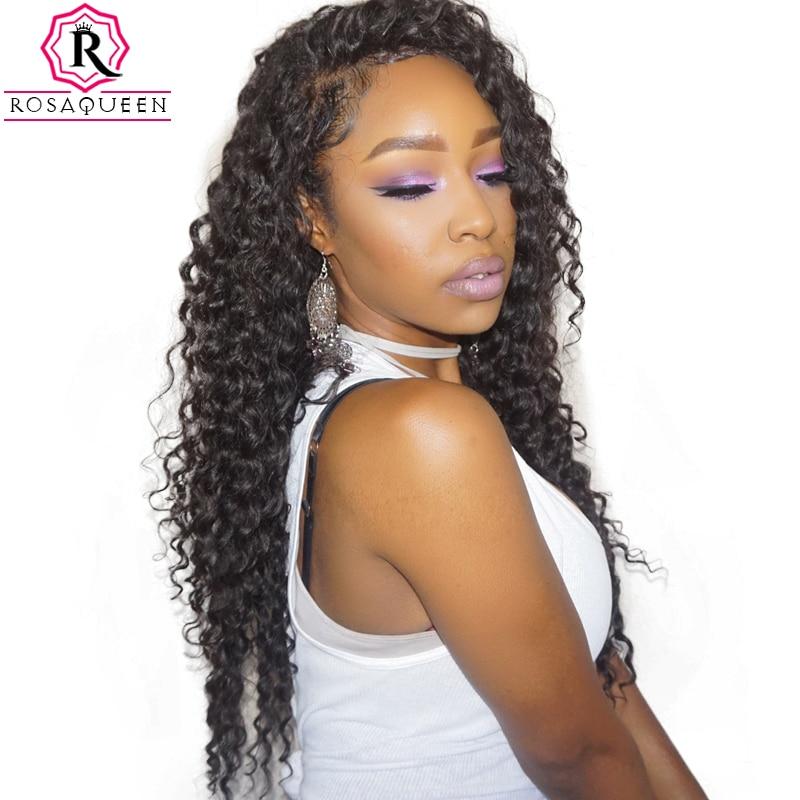 Deep Wave Brazilian Virgin Hair Extensions 100% Մարդկային - Մարդու մազերը (սև) - Լուսանկար 2