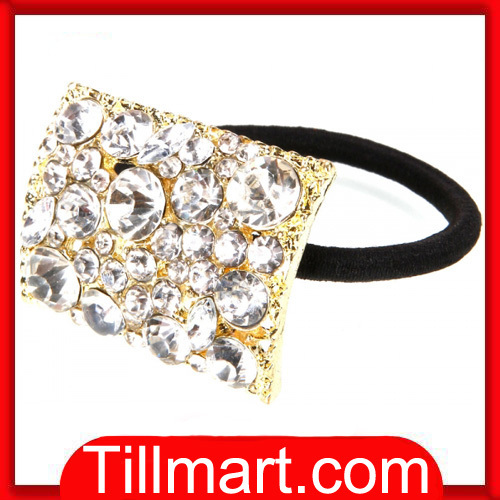 Free shipping on sale High quality Shine Dimond Fine Hair Rope Headwear