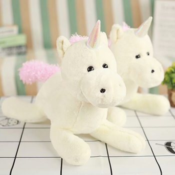 Soft Unicorn Plush Unicorn Toys Pillow Stuffed Animals Flying Horse Cushions Toy For Girls And Kids Gifts Home Decoration