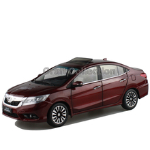 *New Red1:18 Honda Crider 2015 Diecast Model Car Alloy Toy with Cristiano Ronaldo Signature * Panel Included