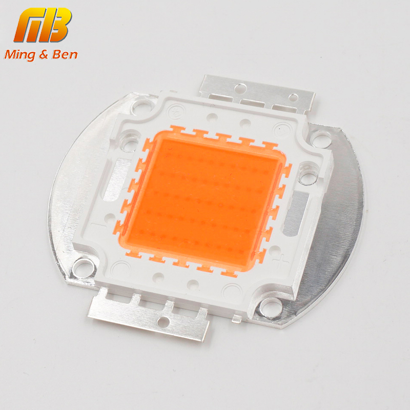 LED мъниста чип 10W 20W 30W 50W пълен спектър - Професионално осветление - Снимка 2