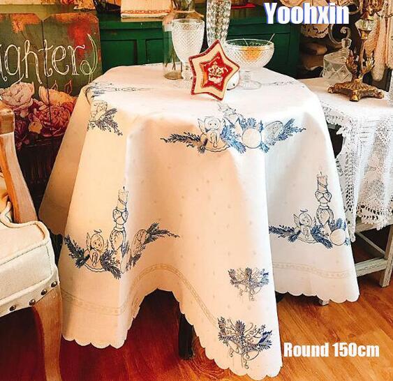Aliexpress.com : Buy Modern White Round Embroidery