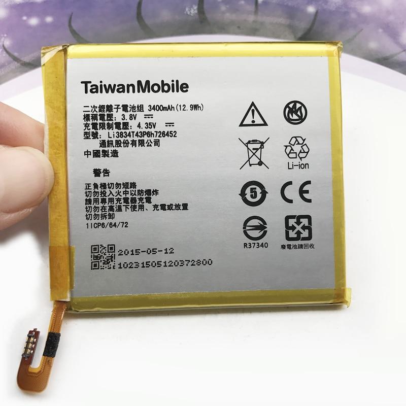Runboss D'origine 3400 mAh Li3834T43P6h726452 Batterie Pour MTS Course Intelligente 4G/ZTE Lame V2 Lite A450 Batteries