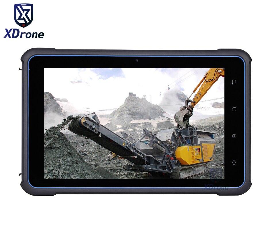 2018 tablette industrielle Scanner PDA étanche antichoc 8 pouces tablettes android GPS 3 GB RAM Octa Core UHF RFID LF HF lecteur
