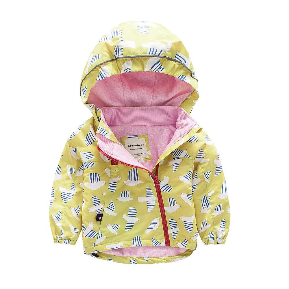 M23 зима мода птичка детский утепленный хлопок мягкой подкладкой куртка с капюшоном Утепленная одежда пальто для мальчиков и девочек топы зи...