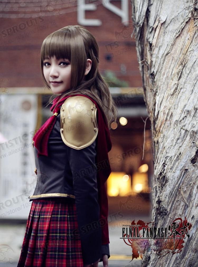 exclusive final fantasy type 0 deuce cosplay costume summer uniform ff zero top in anime. Black Bedroom Furniture Sets. Home Design Ideas