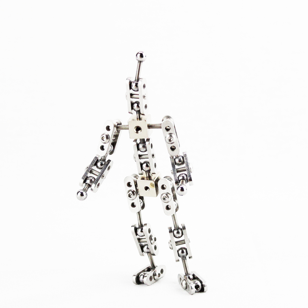 CINESPARK SBA 11 11CM baby type Not Ready Made stainless steel DIY stop motion character puppet armature kit in Photo Studio Accessories from Consumer Electronics