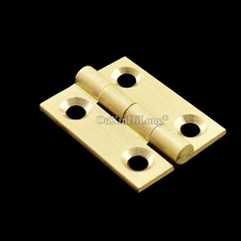 Brand New 500PCS 1Inch Brass Cabinet Hinges Decorative Jewelry Box Mini Hinges with Screws bqlzr metal decorative bronze mini spring hinges replacement for jewelry box pack of 20
