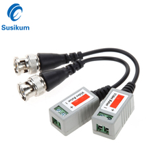 10Pairs 20Pieces AHD/CVI/TVI Twisted BNC CCTV Video Balun Passive Transceivers UTP Balun BNC Cat5 CCTV Video Balun UP To 300M passive video balun for tradditional cctv system and analog camera and dvr 10pair free shipping
