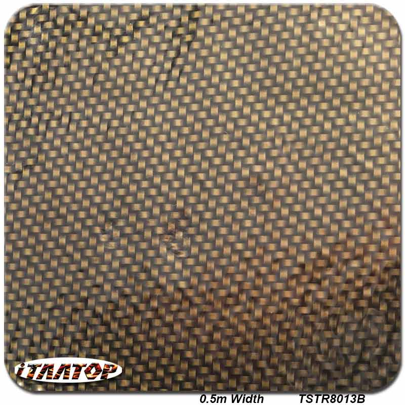 ITAATOP Hydro Film TSTR8013B 0.5m*2m Carbon Hydro Dipping Water Transfer Printing Film