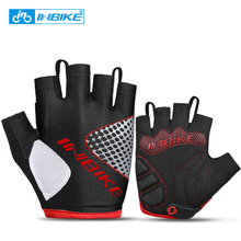 INBIKE Half Finger Cycling Gloves Anti Slip Breathable Motorcycle MTB Road Bike Gloves Summer Men Women Sports Bicycle Gloves