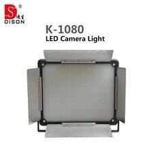 2 шт. Dison СВЕТОДИОДНАЯ фотовспышка K-1080 80 Вт 6000 Люмен светодиодные лампы led видеокамеры света