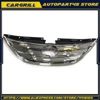 For Hyundai Sonata 2011 2013 Genuine Radiator Chrome Hood Grille Front Upper