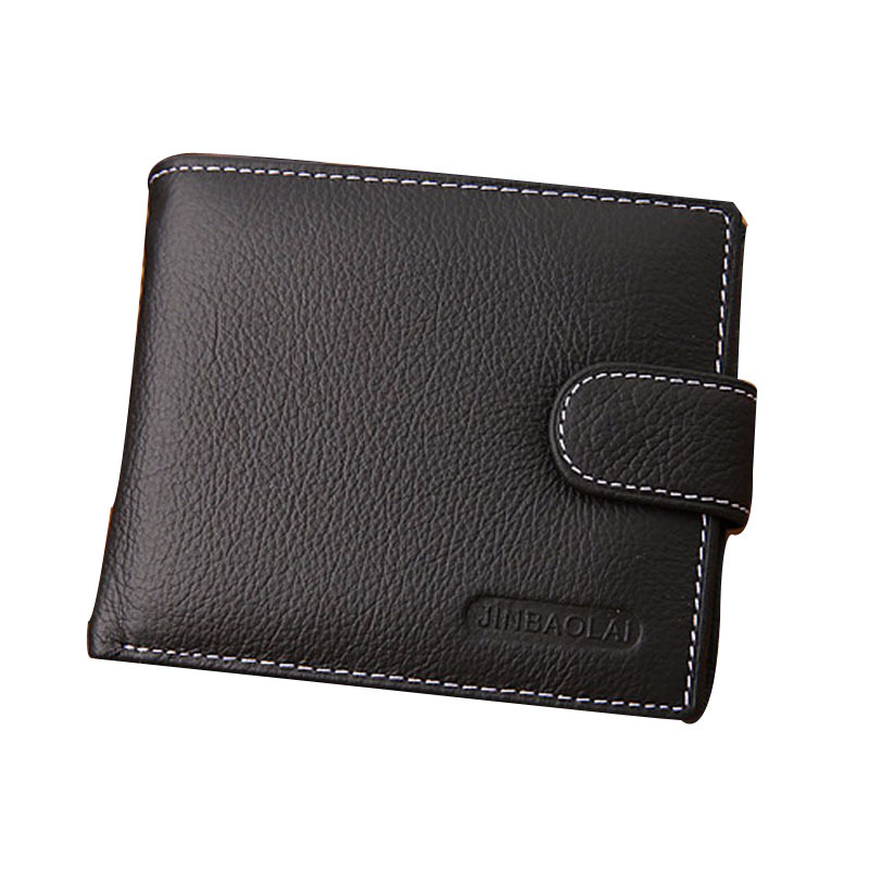 Men Wallets Famous Brand Genuine Leather Coin Wallet Solid Short Card Holder Designer Purses Coin Pouch Cartera Mara's Dream 2017 men business short leather wallet male brand wallets purses with card holder for men