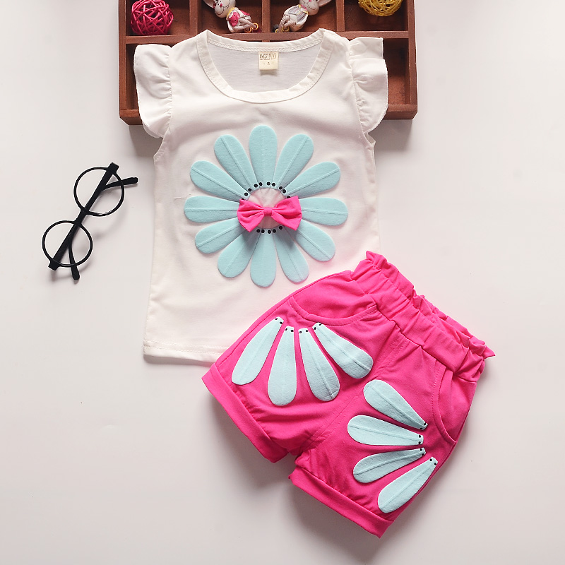 Bibicola child women clothes units kids woman garments summer time trend vest+brief 2pcs go well with vetement enfant fille youngsters garments summer time women clothes units, women clothes units,...