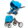 New Baby Stroller Fashion Pram Folding Carriage Suit for Sit and Lying European Stroller