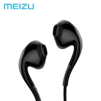 MEIZU EP2X IOS Android 3.5MM Jack Earphone Heavy bass Headsets Drive-by-wire Earphone With Mic For Smart Device