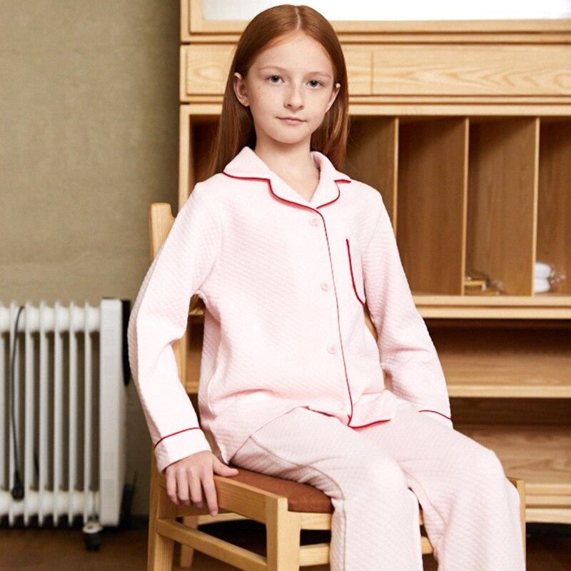 2019 bambin filles nouveaux Pyjamas ensembles hiver velours chaud vêtements de nuit pour enfants Pijamas filles hiver enfants filles noël Pyjamas ensembles
