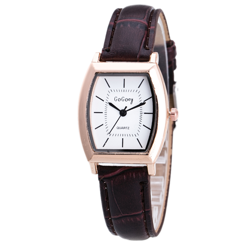 Elegant Ladies Dress Watches Women Classic Rectangle Wrist ...