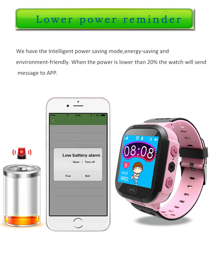 MOCRUX Q527 Smart watch Children Kid Wristwatch SOS GSM Locator Tracker Anti-Lost Safe Smartwatch Child Guard for iOS Android (9)