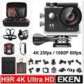 """2016 Nova Original EKEN H9R Ultra HD 4 K Câmera de Esportes de Ação de Vídeo Wide Angle de 2.0 """"tela 1080 p 60fps H9 + 2.4G controle Remoto"""