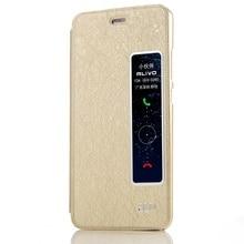 Sulada Coque для Huawei P10 плюс телефон случаях окошком Smart кожаный чехол подставка для Huawei P 10 плюс сумка Капа-золото