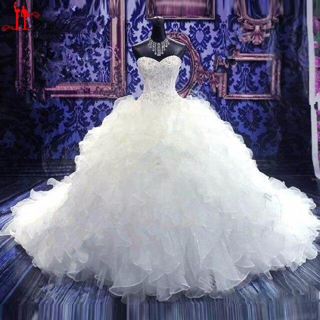 2016 vestido de novia barato vestidos de novia de princesa