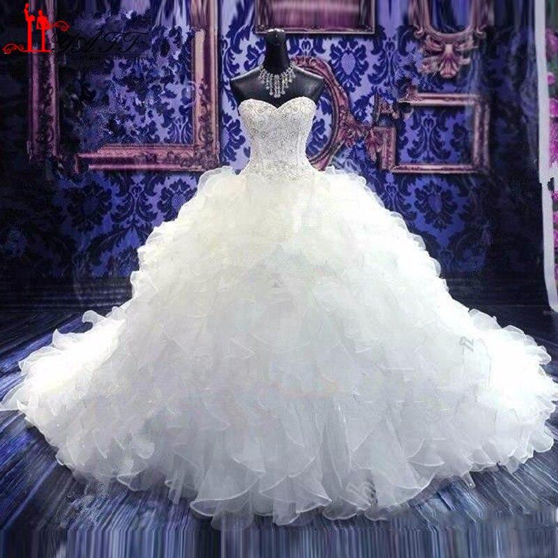 Wedding Dresses Ball Gown Corset: 2016 Wedding Dress Cheap Bridal Gowns Princess Sweetheart