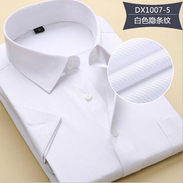 2016 мужская чистый цвет дружки рубашка с короткими рукавами, развивать нравственность короткий рукав рубашки бизнес рэнд Красный черный белый